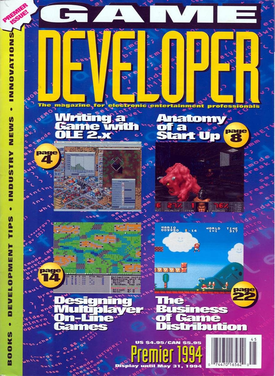 Game Developer 001 Mar 1994