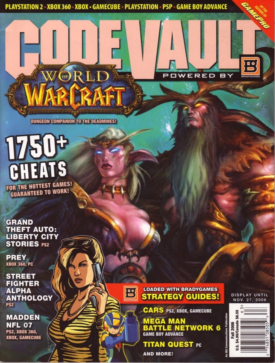 Code Vault Issue 35 Fall 2006