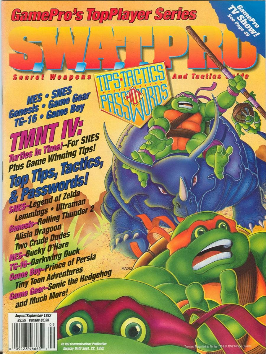 S.W.A.T.Pro Issue 07 August/September 1992