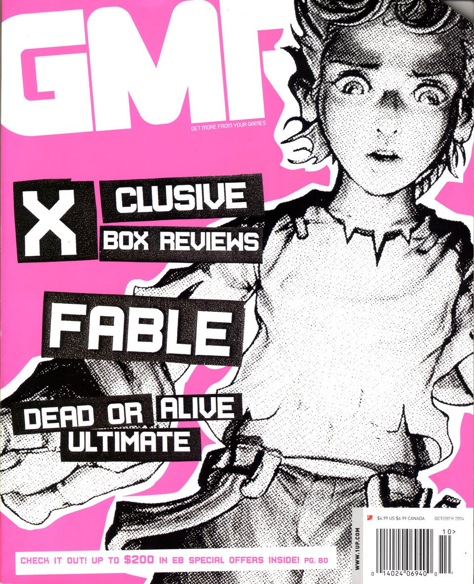 GMR Issue 21 October 2004 cover 2