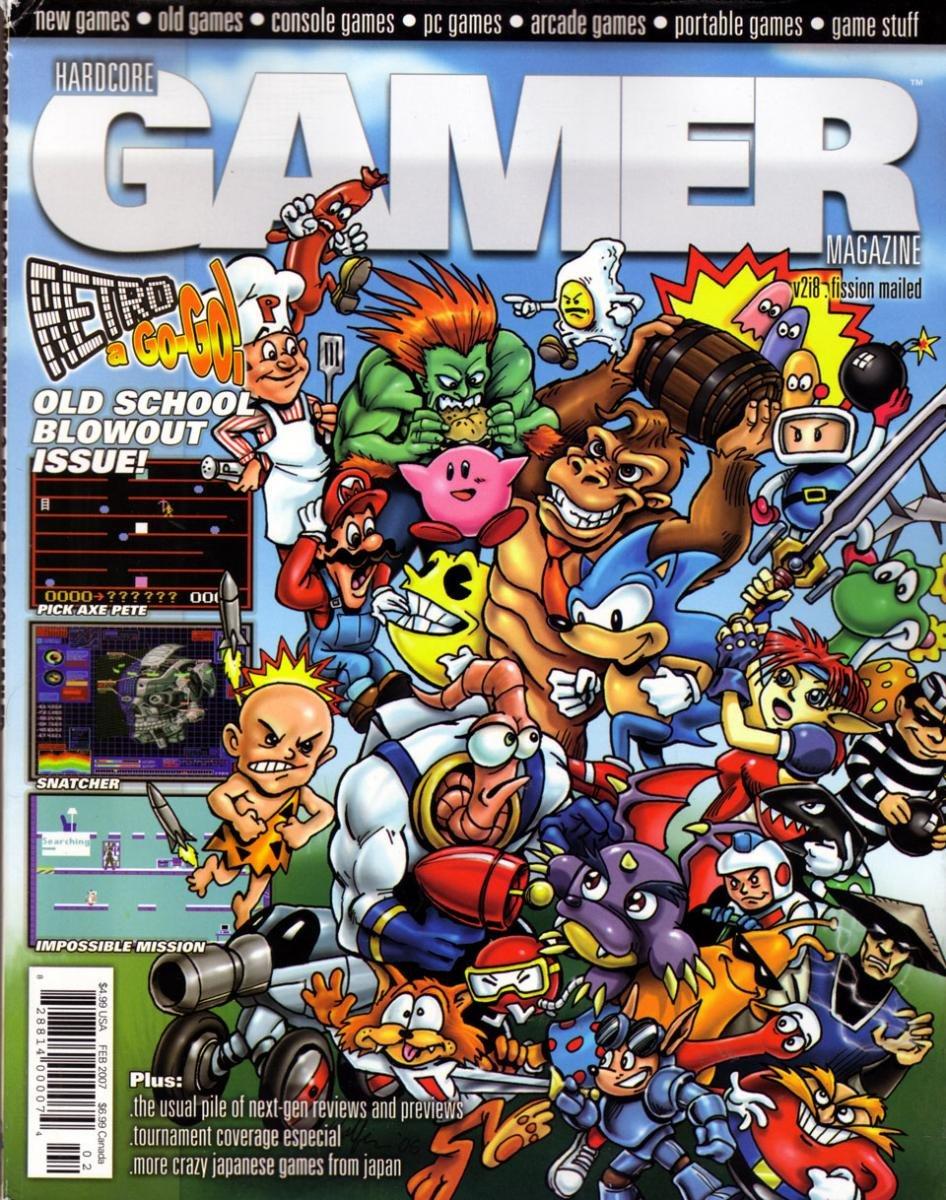 Hardcore Gamer Issue 20 February 2007