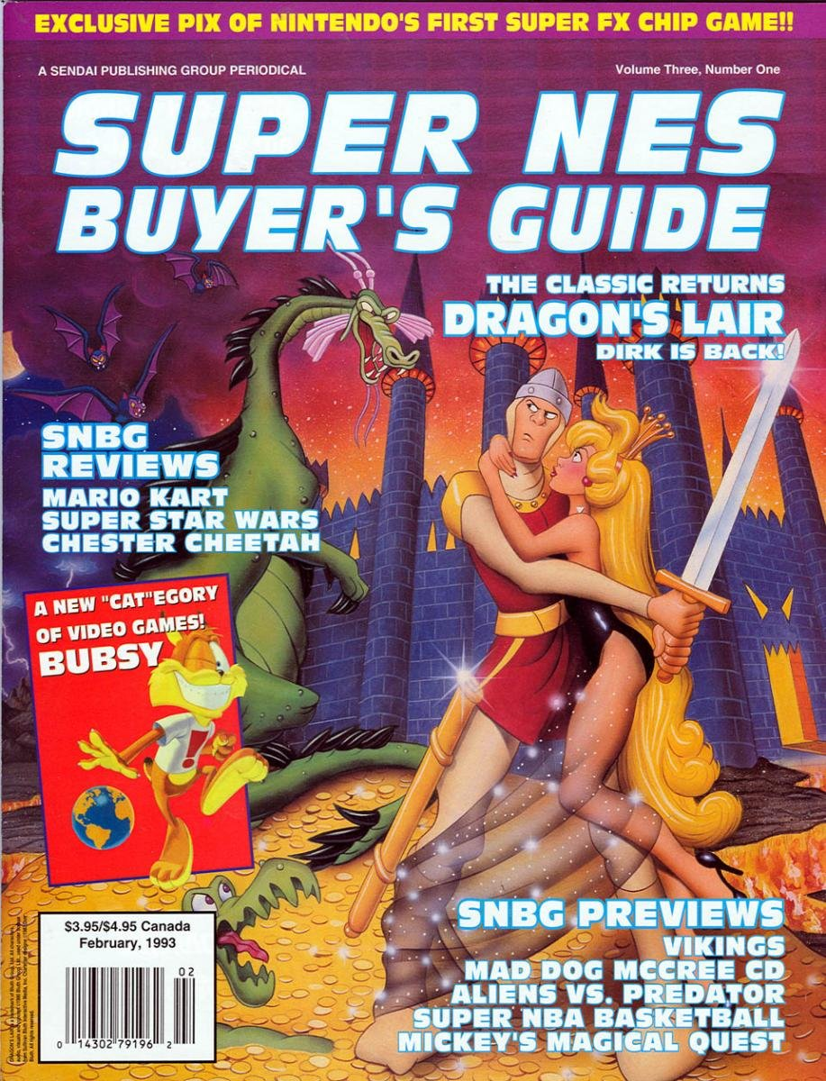 Super NES Buyer's Guide Issue 06 February 1993