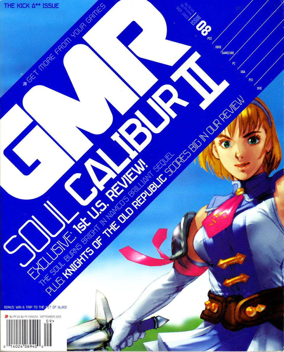 GMR Issue 08 September 2003 cover 1