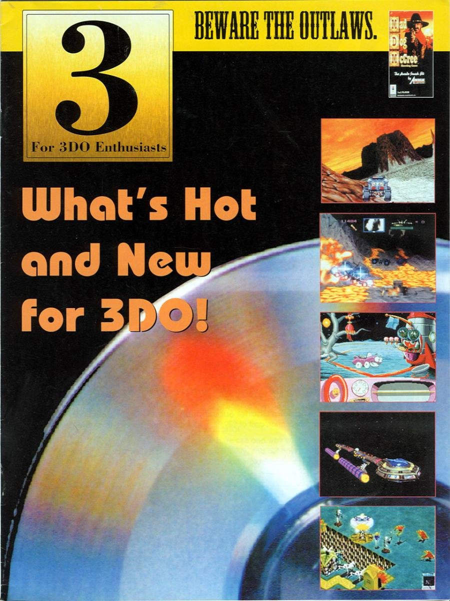 3 For 3DO Enthusiasts Issue 00 Sep Oct 1994