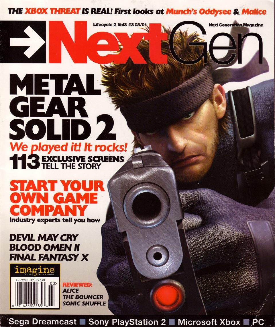 Next Generation Issue 75 March 2001