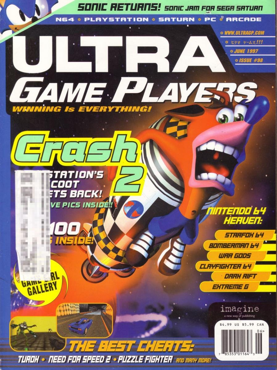 Ultra Game Players Issue 98