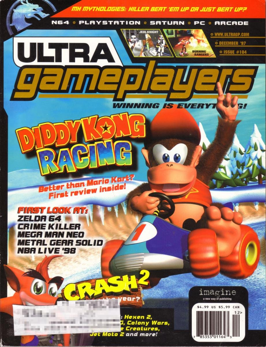 Ultra Game Players Issue 104 (December 1997)