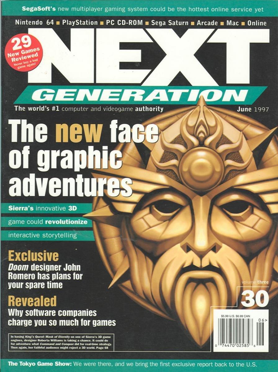 Next Generation Issue 30 June 1997