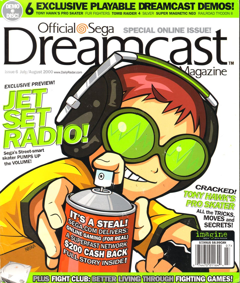 Official Sega Dreamcast Magazine Issue 006 (July-August 2000)