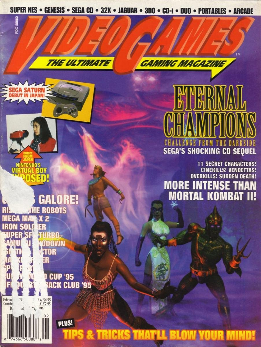 Video Games Issue 73 February 1995
