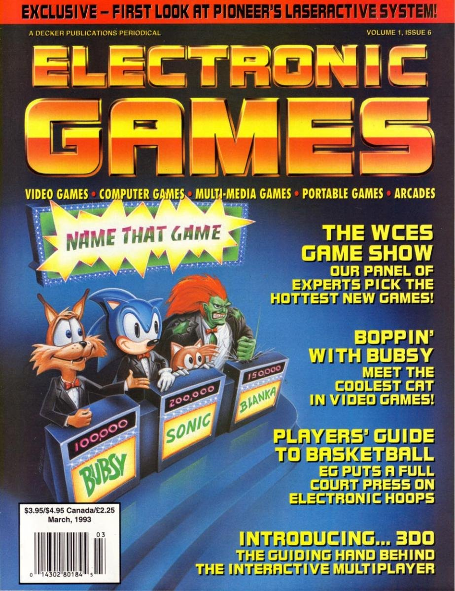 Electronic Games 040 March 1993 Vol 1 Issue 006