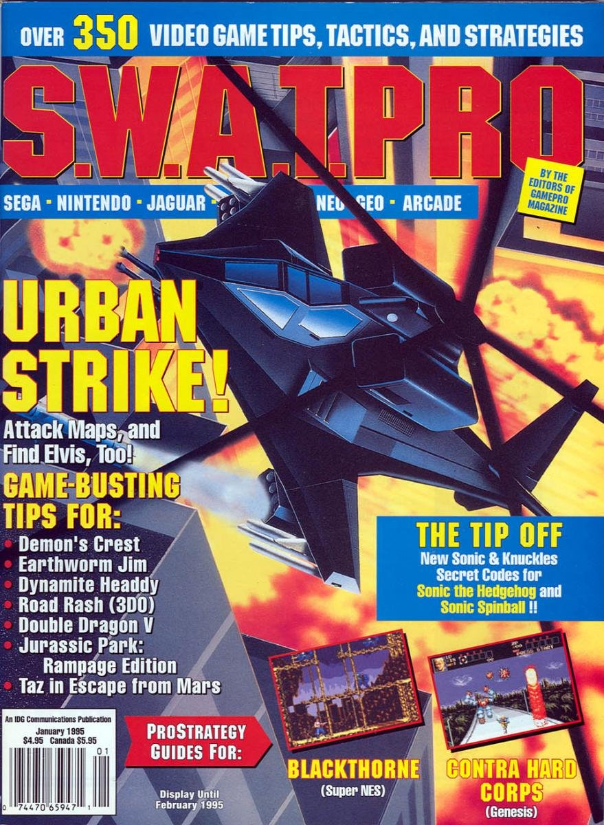S.W.A.T.Pro Issue 21 January 1995