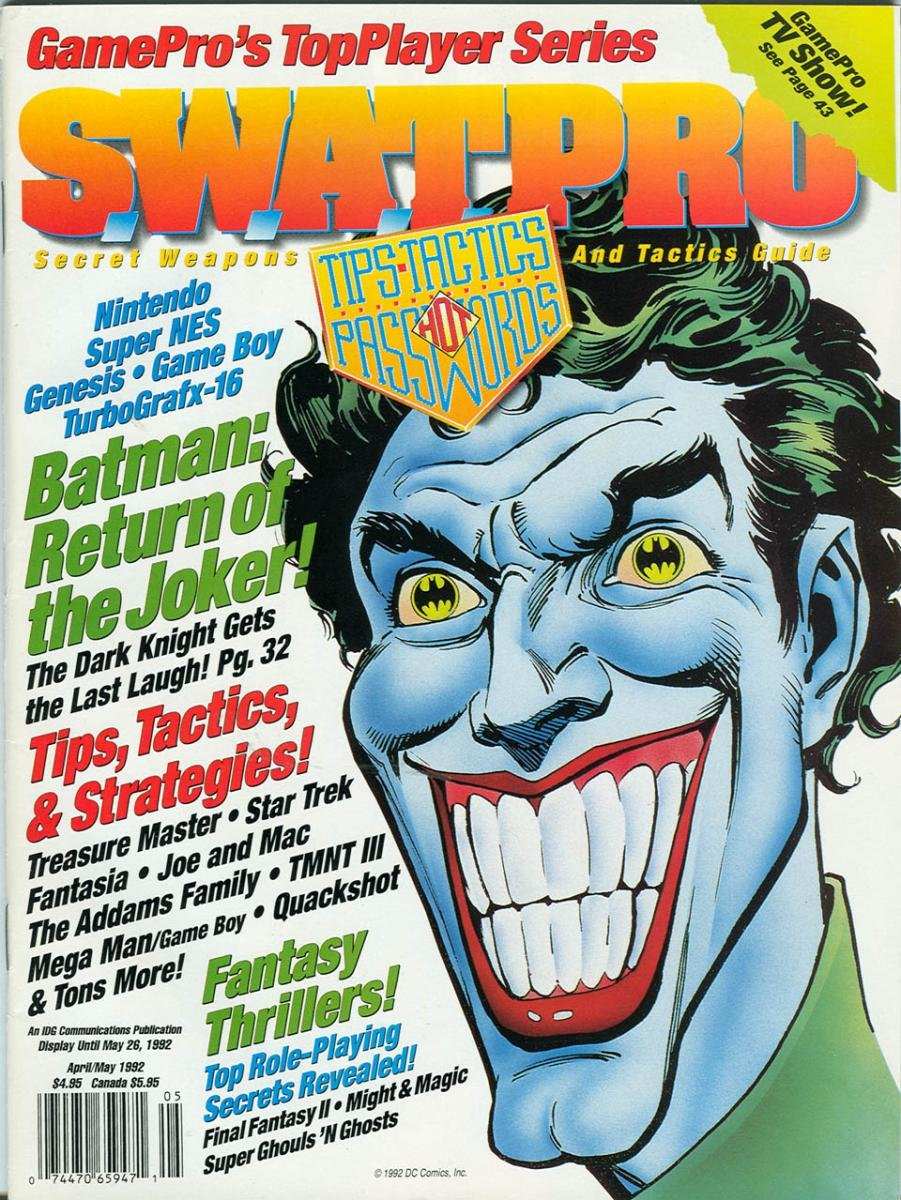 S.W.A.T.Pro Issue 05 April/May 1992