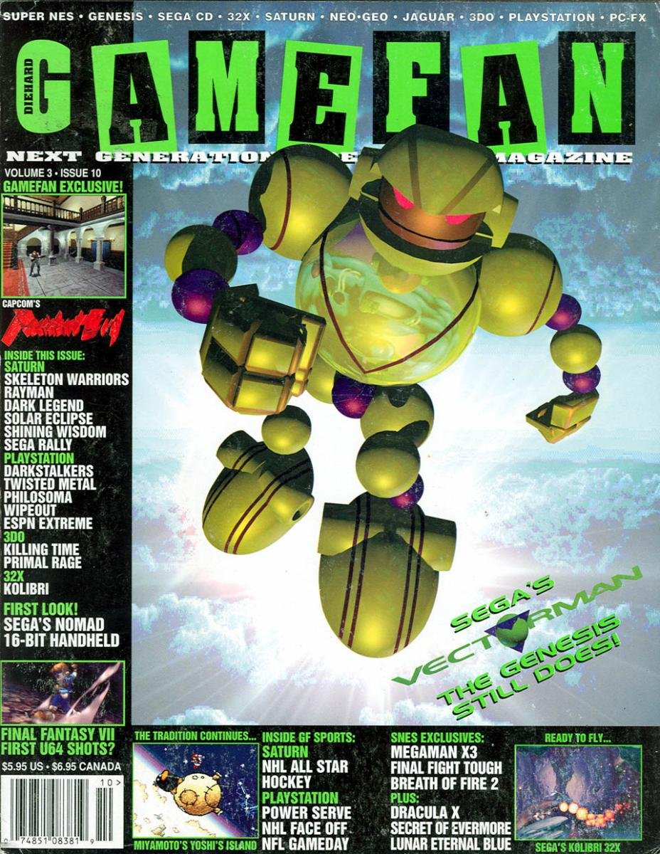 Gamefan Issue 34 October 1995 (Volume 3 Issue 10)