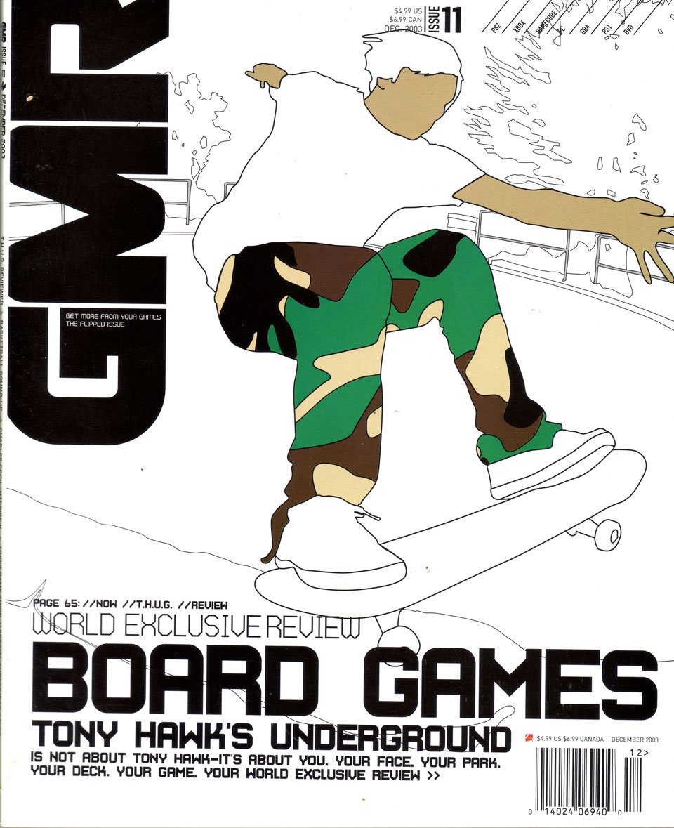 GMR Issue 11 December 2003 cover 1