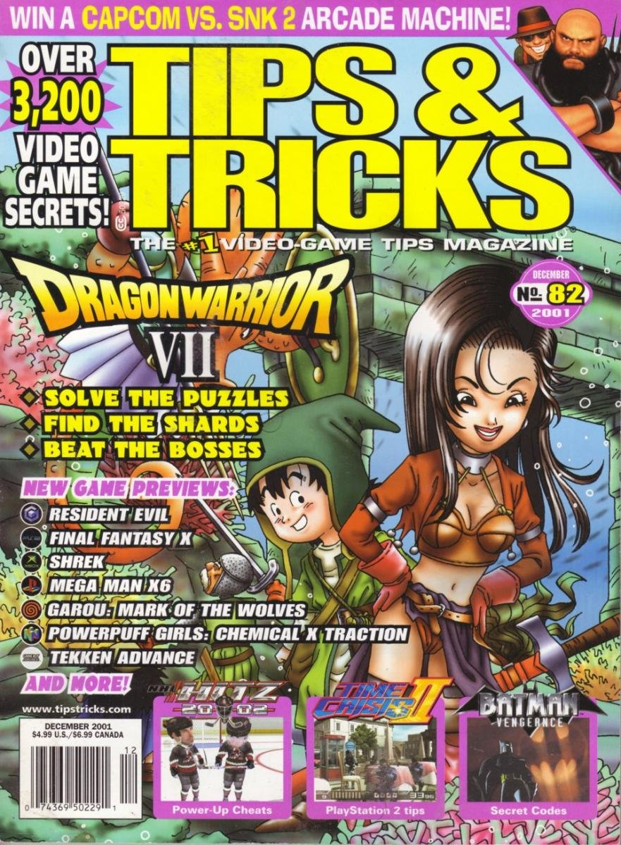 Tips & Tricks Issue 082 December 2001