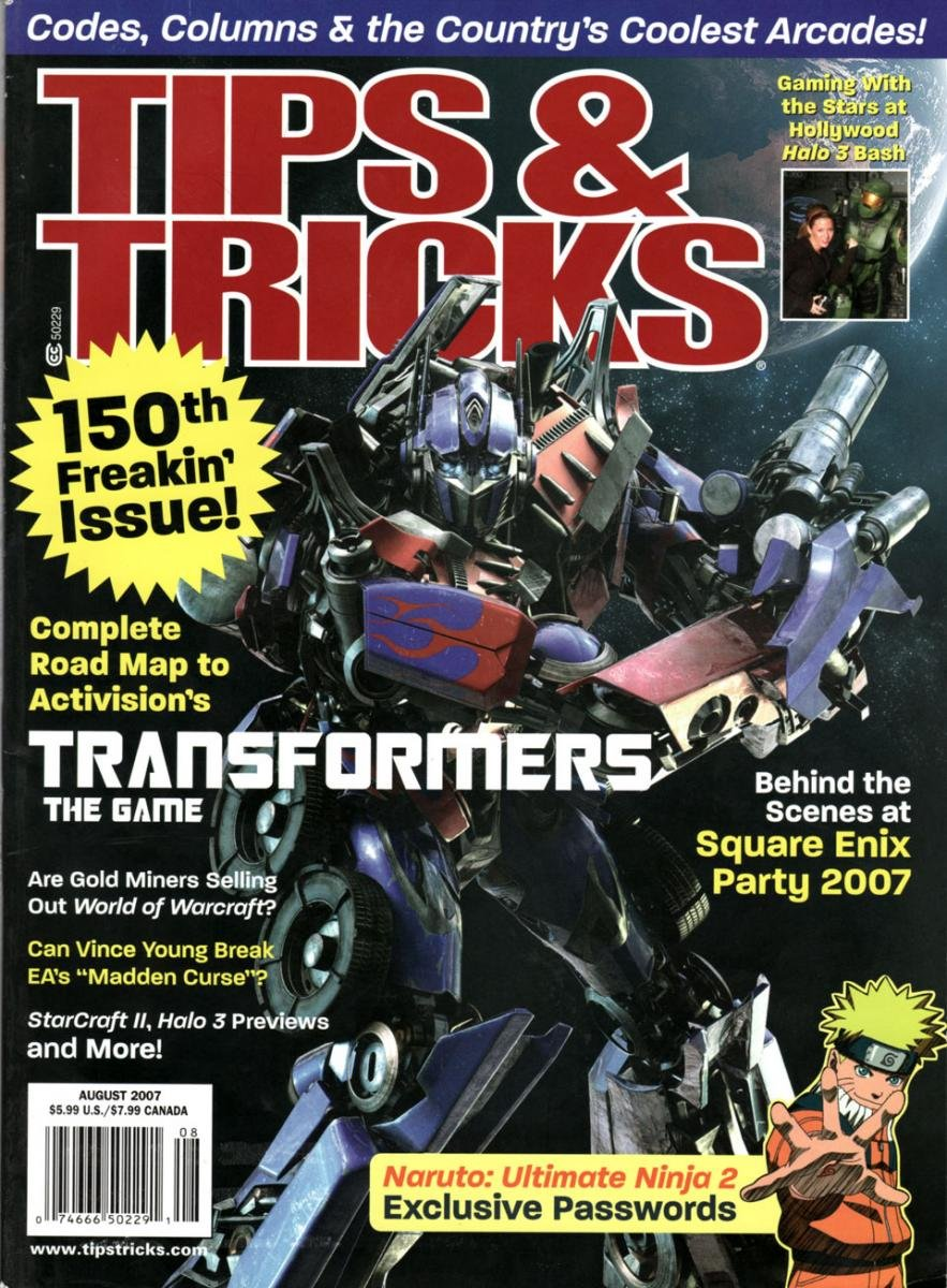 Tips & Tricks Issue 150 August 2007