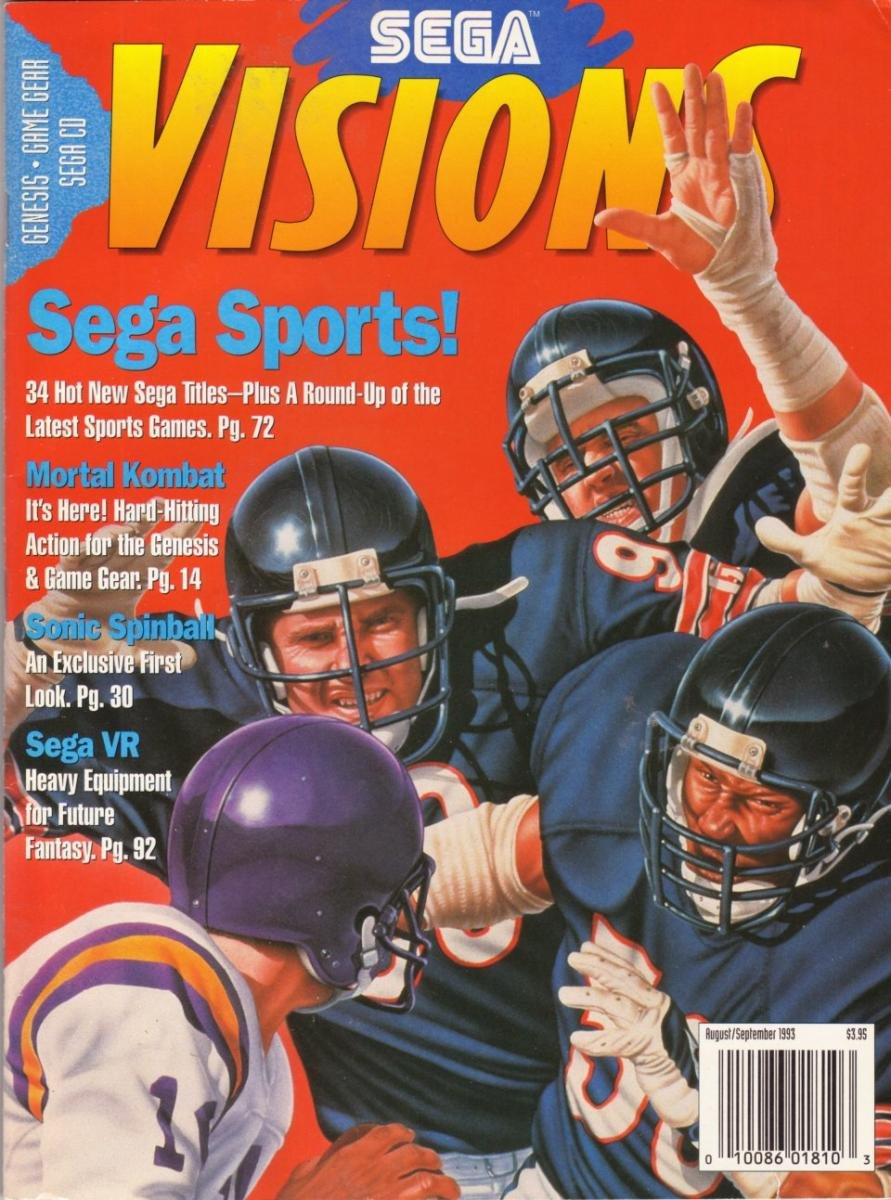 Sega Visions Issue 014 (August/September 1993)