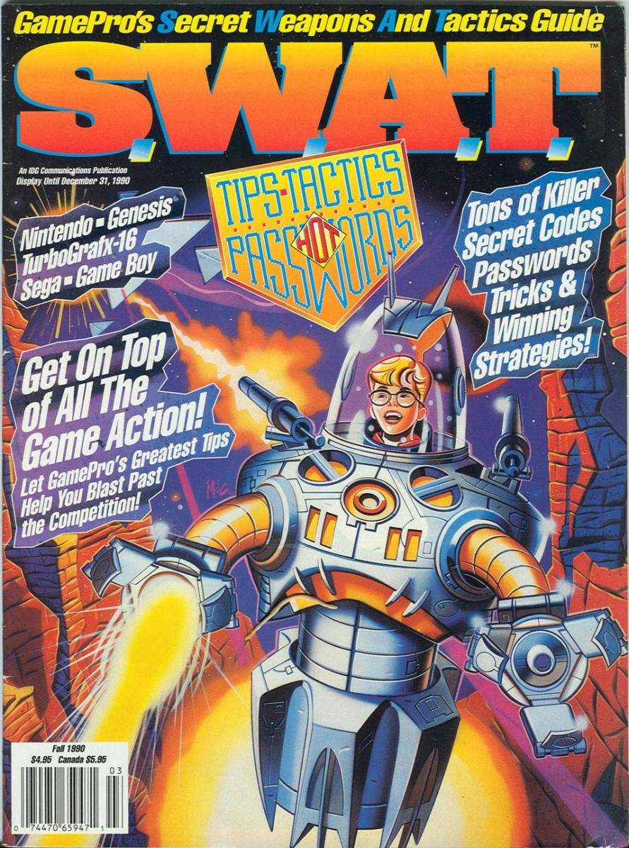S.W.A.T. Issue 01 Fall 1990