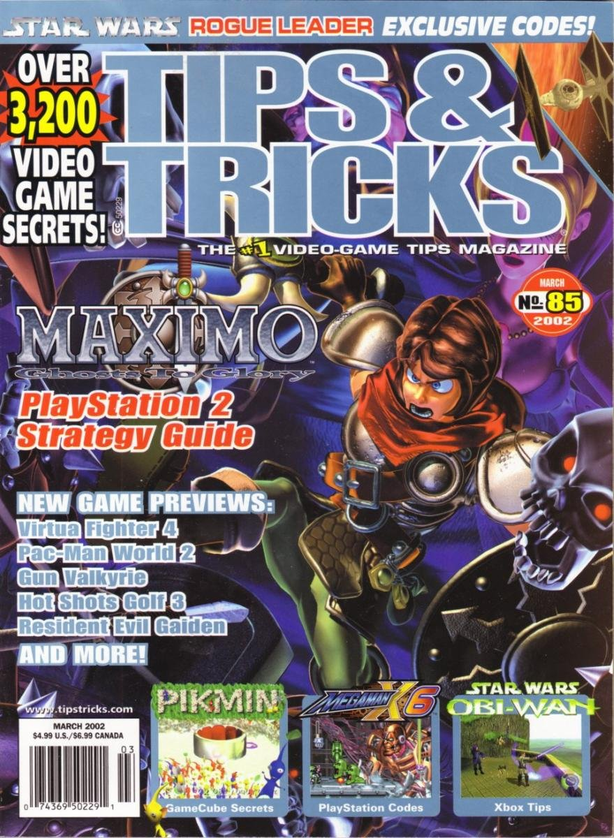 Tips & Tricks Issue 085 March 2002
