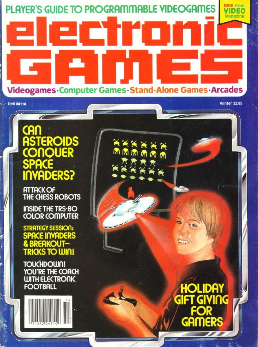 Electronic Games 001 Winter 1981
