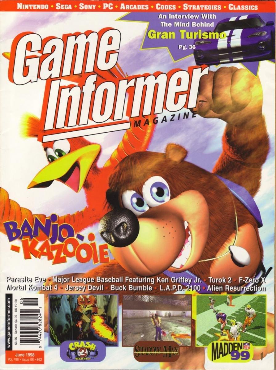Game Informer Issue 062 June 1998