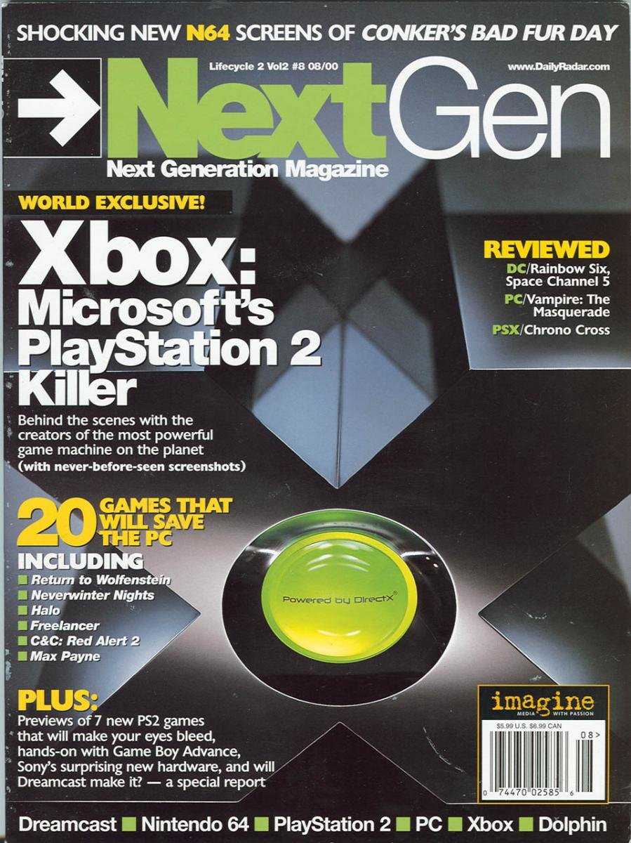 Next Generation Issue 68 August 2000