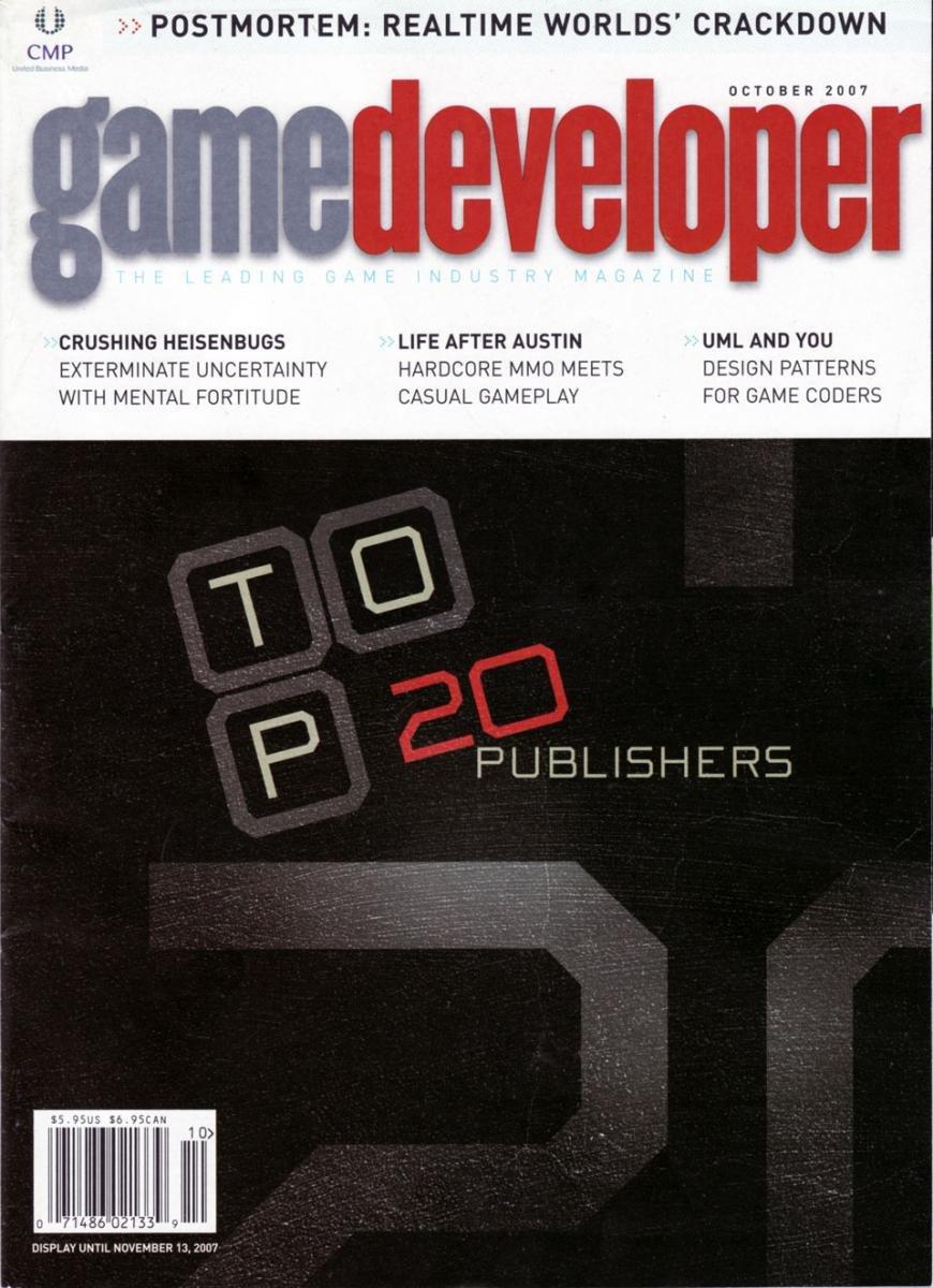 Game Developer 139 Oct 2007