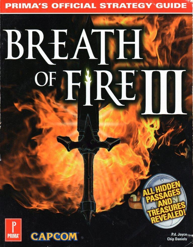 Breath of Fire 3 - Strategy Guide - Prima