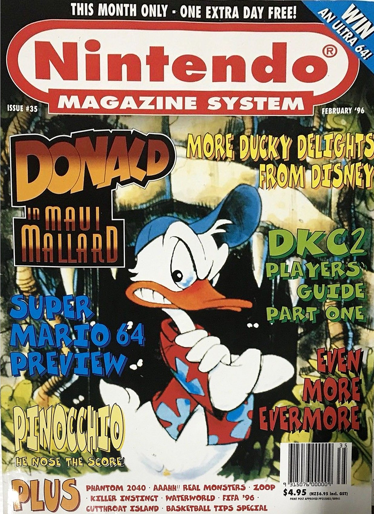 Nintendo Magazine System (AUS) 035 (February 1996)