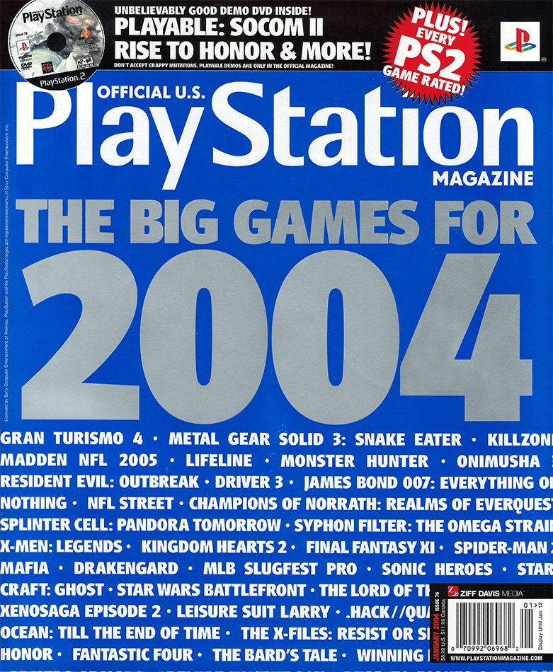Official U.S. PlayStation Magazine Issue 076 January 2004