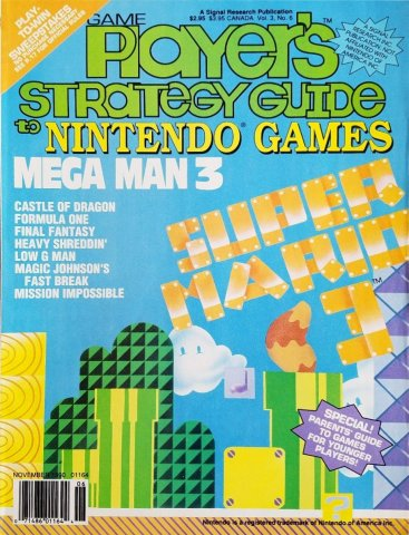 Game Player's Strategy Guide to Nintendo Games Vol.3 No.6 (November 1990)