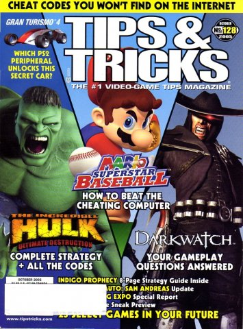 Tips & Tricks Issue 128 (October 2005)