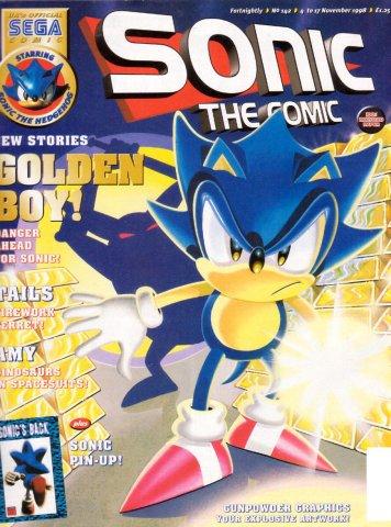 Sonic the Comic 142 (November 4, 1998)