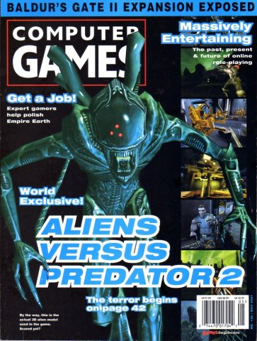 Computer Games Issue 126 (May 2001)
