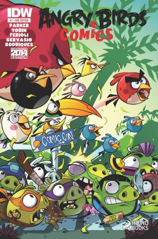 Angry Birds Comics 01 (June 2014) (convention edition cover)