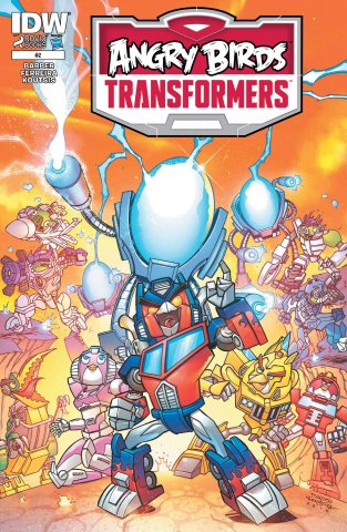 Angry Birds Transformers 02 (December 2014)