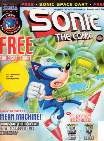 Sonic the Comic 143 (November 18, 1998)