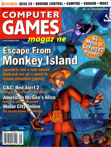 Computer Games Magazine Issue 118 (September 2000)
