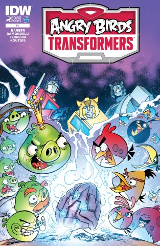 Angry Birds Transformers 01 (November 2014)