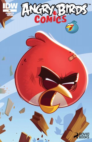 Angry Birds Comics 03 (August 2014) (cover b)