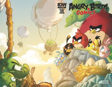 Angry Birds Comics 09 (March 2015) (subscriber cover)