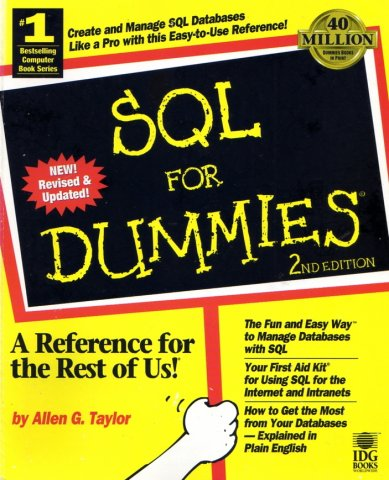 SQL For Dummies (2nd Edition)