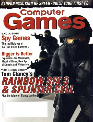 Computer Games Issue 144 (November 2002)