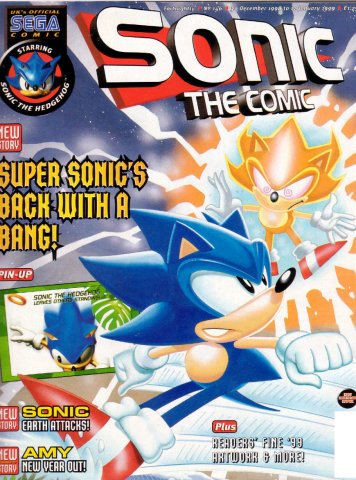 Sonic the Comic 146 (December 30, 1998)
