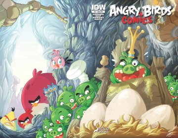 Angry Birds Comics 11 (May 2015) (subscriber cover)