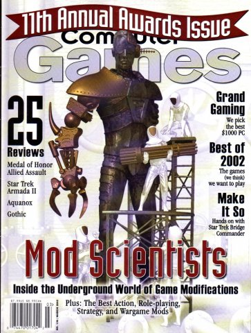 Computer Games Issue 136 (March 2002)