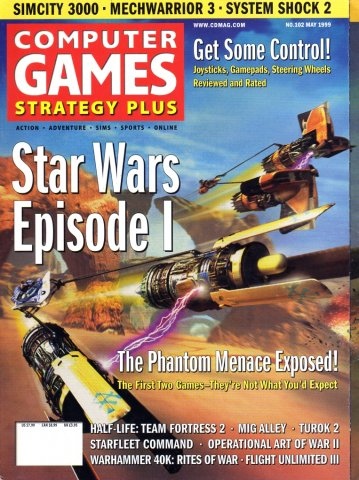 Computer Games Strategy Plus Issue 102 (May 1999)