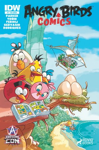 Angry Birds Comics 01 (June 2014) (Awesome Con edition)