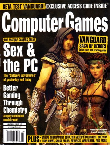 Computer Games Issue 187 (June 2006)